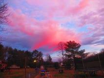 Schönheit des Himmels stockbild