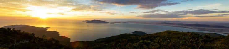 Schönheit des Meerblicks stockfotos