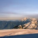 Schönheit des Schneeberges Lizenzfreie Stockfotografie