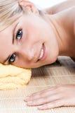 Schönheit an einem Badekurort Lizenzfreies Stockbild