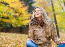Schönheit im Herbst Lizenzfreie Stockfotos