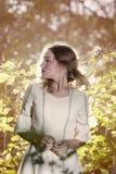 Schönheit im Wald Stockfotos
