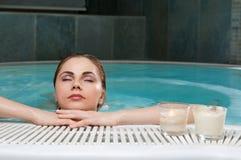 Schönheit im Wasser Lizenzfreies Stockfoto