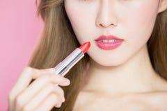Schönheit skincare Frau Lizenzfreies Stockfoto