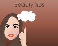 Schönheit spitzt Hintergrund, Illustration im Vektorformat Stockfotografie
