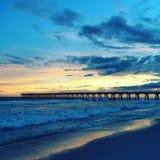 Schönheit am Strand Stockbild