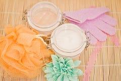 Schönheit und Badekurort entspannende Wellneßbehandlungen Stockfotos