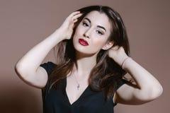 Schönheit und Make-up Stockfotos
