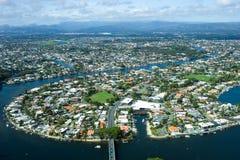 Schönheit von Gold Coast Lizenzfreies Stockfoto
