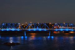 Schönheit von Grand Rapids Stockfotografie