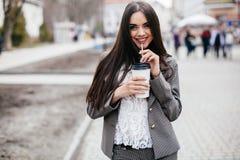 Schönheiten auf einer Straße Lizenzfreies Stockfoto