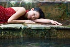 Schönheits-Badekurort Lizenzfreie Stockfotografie