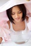 Schönheits-Badekurort-Gesichtsbehandlung lizenzfreie stockfotografie