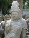 Schönheits-chinesische Statue - Peking-Schmutz-Markt Stockbild