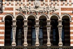 Schönheits-Epoche-wijk in der Stadt von Antwerpen, Belgien Lizenzfreie Stockfotos