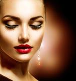 Schönheits-Frau Lizenzfreie Stockfotografie