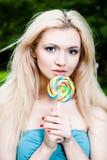 Schönheits-Frau Lizenzfreies Stockfoto