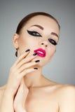 Schönheits-Frauen-Porträt Lizenzfreie Stockfotos