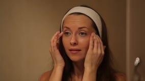 Schönheits-Hautpflege stock video