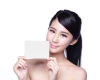 Schönheits-Hautpflegefrauenvertretung Lizenzfreie Stockfotografie