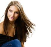 Schönheits-Mädchen lizenzfreies stockfoto
