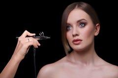 Schönheits-Mode-Modell Woman, Porträt Lizenzfreie Stockbilder