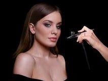 Schönheits-Mode-Modell Woman, Porträt Lizenzfreie Stockfotografie