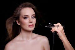 Schönheits-Mode-Modell Woman, Porträt Stockfoto