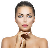 Schönheits-Porträt lizenzfreie stockfotos