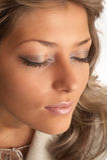 Schönheits-Portrait Stockfotografie