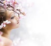 Schönheits-Portrait Lizenzfreie Stockbilder
