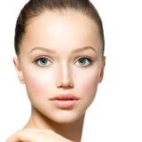 Schönheits-vorbildliches Mädchen Lizenzfreies Stockfoto