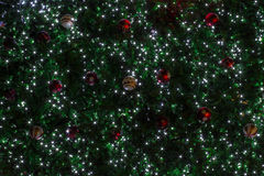 Schönheits-Weihnachts- und des neuen Jahreshintergrund Stockfotografie