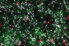 Schönheits-Weihnachts- und des neuen Jahreshintergrund Stockbilder