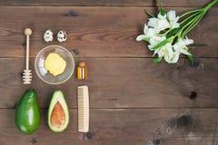 Schönheitsbadekurortsalonkörperhautpflege-Behandlungskonzept stockbilder