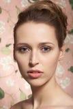 Schönheitsbaumuster, Portrait Lizenzfreies Stockfoto