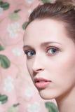 Schönheitsbaumuster, Portrait N2 Lizenzfreies Stockbild