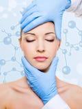 Schönheitsbehandlung der Haut Lizenzfreie Stockbilder