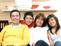 Schönheitsfamilie Stockbild