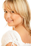 Schönheitsfrauenlächeln Lizenzfreie Stockbilder