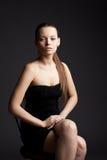 SchönheitsGeschäftsfrau-Portraitlächeln zu Ihnen Lizenzfreies Stockbild