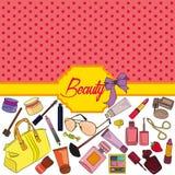 Schönheitshintergrund Lizenzfreie Stockbilder