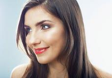 Schönheitsjugendlich-Mädchenabschluß herauf Porträt Lizenzfreie Stockfotos