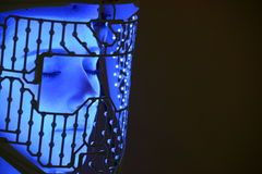 Schönheitsmaske LED lizenzfreie stockfotografie