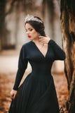 Schönheitsmodell mit Berufsmake-up, im Schmuck Lizenzfreie Stockfotos