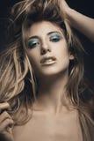 Schönheitsporträt der jungen sexy Frau Stockfotografie