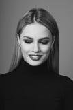 Schönheitsporträt von Blondinen Lizenzfreie Stockbilder