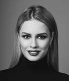 Schönheitsporträt von Blondinen Lizenzfreies Stockbild