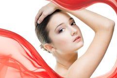 Schönheitsportrait Lizenzfreies Stockbild