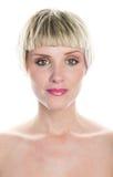 Schönheitsportrait der Frau in den dreißiger Jahren Lizenzfreie Stockbilder